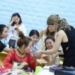 中国の大手ジェルメーカー主催のイベントにフリーネイルのスタッフが技術支援出張してきました!